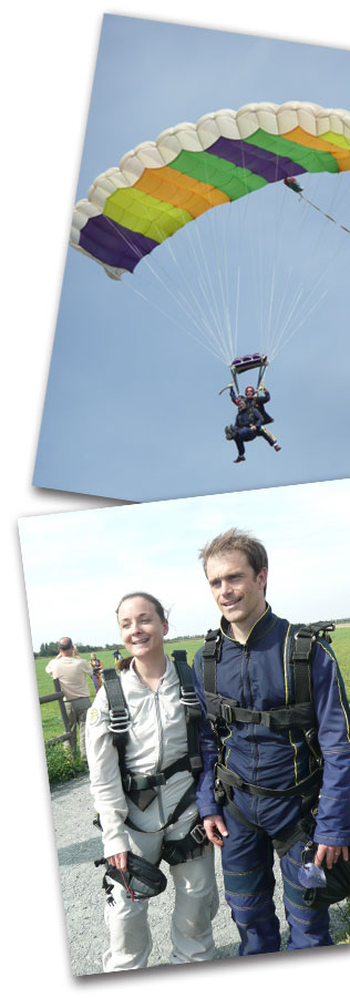 Sky Diving Saturday 3rd September 2011